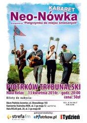 Kabaret NEO-NÓWKA wystąpi w Piotrkowie
