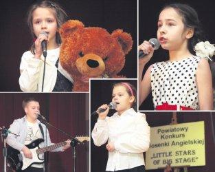 Małe gwiazdy zaśpiewały na moszczenickiej scenie