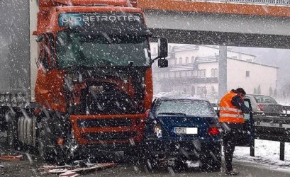 Fatalne warunki jazdy – utrudnienia na DK1 i S8