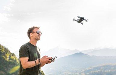 Na piotrkowskim niebie coraz więcej dronów