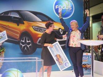 Renault Captur dla El¿biety z Mniszkowa! Fina³ loterii w Focus Mall