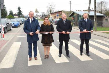 Przebudowano 6 km drogi powiatowej