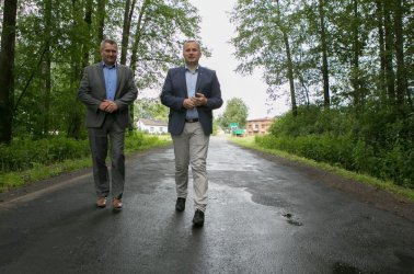 Modernizacje dróg w powiecie piotrkowskim