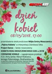 Moszczenica: Dzień Kobiet z GOKiS