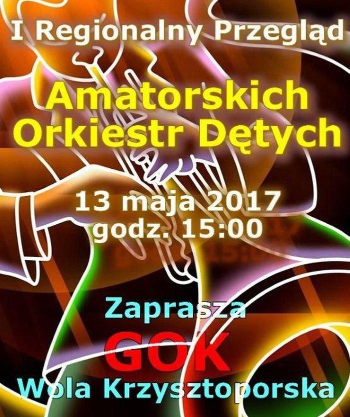 Ju¿ w sobotê I Regionalny Przegl±d Amatorskich Orkiestr Dêtych