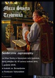 Po raz kolejny Msza Trydencka w Piotrkowie