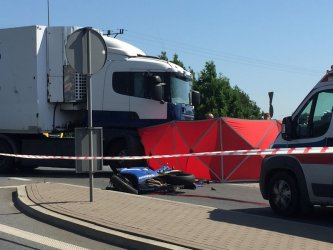 Śmiertelny wypadek  w Piotrkowie