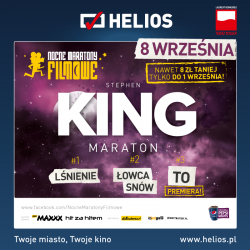 Helios zaprasza na Maraton Kinga