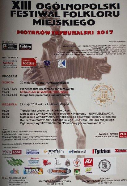 Kolejny Festiwal Folkloru Miejskiego ju¿ wkrótce