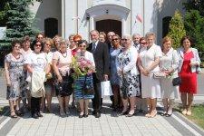 Rodzice Andrzeja Dudy z wizyt± w Wolborzu