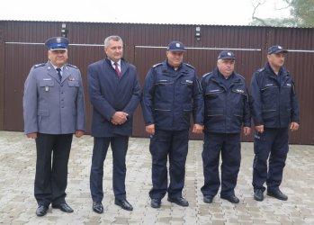 Nowe garaże dla policjantów z Grabicy