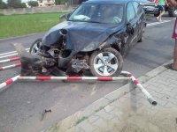 Zderzenie dwóch aut w gminie Rêczno