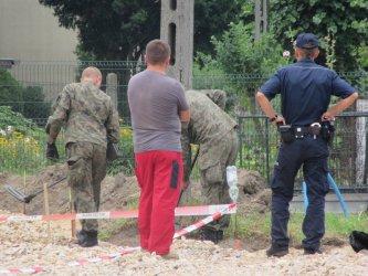 Niebezpieczne znalezisko w Sulejowie