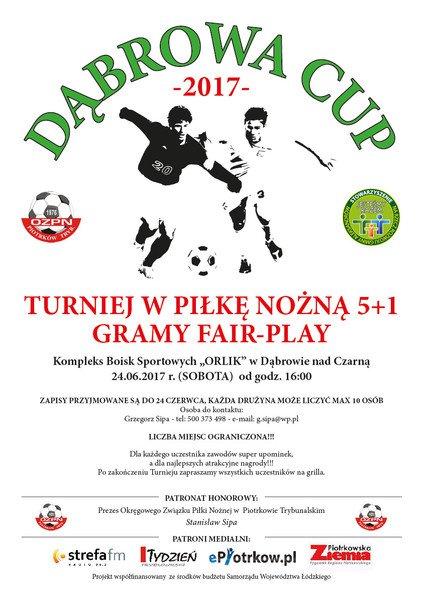Weź udział w Dąbrowa Cup i wygraj nagrody