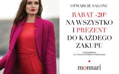 Wielkie otwarcie salonu Monnari w Piotrkowie