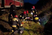 Kilkunastu rannych po zderzeniu poci±gu z samochodem (æwiczenia s³u¿b + VIDEO)