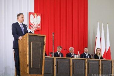 O Piotrkowie na posiedzeniu Zgromadzenia Narodowego
