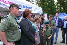 Piotrkowscy harcerze spotkali siê z Ann± Komorowsk±
