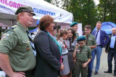 Piotrkowscy harcerze spotkali się z Anną Komorowską
