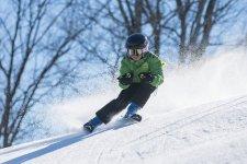 Jak nauczyæ malucha jazdy na nartach?
