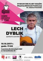 Lech Dyblik w piotrkowskiej bibliotece