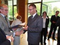 Absolwenci szko³y Haeringa odebrali dyplomy