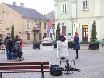 CANAL + DISCOVERY  kręcił dokument o filmowym Piotrkowie