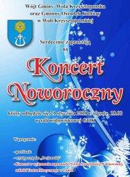 Wola Krzysztoporska: Zapraszają na koncert noworoczny