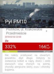 Znów duży smog nad Piotrkowem