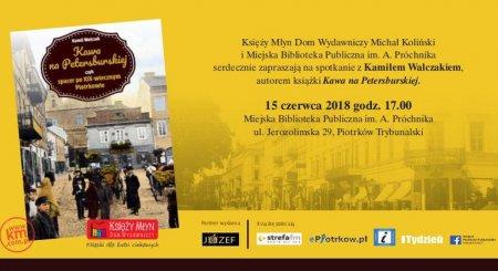 Zapraszamy na promocję książki o Piotrkowie!