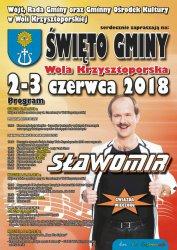 Wola Krzysztoporska zaprasza na koncert Sławomira