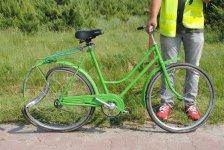 ¦miertelne potr±cenie rowerzystki