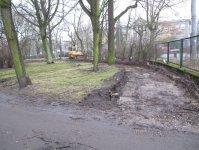 Trwaj± prace w parku Poniatowskiego
