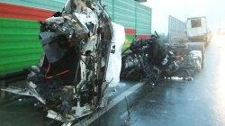 Jedna osoba ranna w wypadku na S8 [ZDJÊCIA]