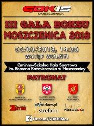 III Gala Boksu w Moszczenicy