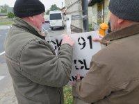 Protest rolników na DK nr 91. Znowu...