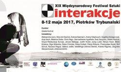 XIX Miêdzynarodowy Festiwal Sztuki Interakcje 2017 coraz bli¿ej