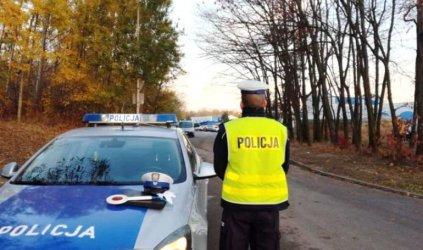 16 wypadków podczas pierwszego dnia akcji Znicz w Łódzkiem