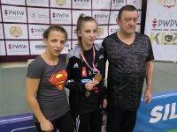 Nikoletta Szewczuk na podium Mistrzostw Polski