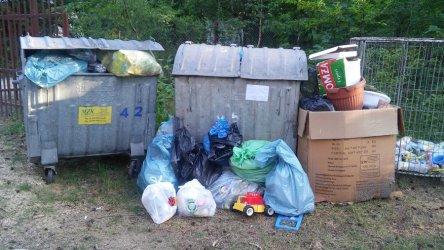 Problem ze śmieciami w Sulejowie
