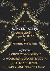 Koncert kolęd w Kolegiacie Wolborskiej
