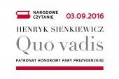 """Poczytaj� """"Quo vadis"""" na Placu Jagie��y"""