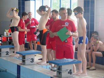 Rodzinne pływanie w Piotrkowie