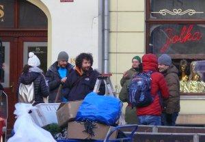 Filmowcy od rana pracuj± na Rynku Trybunalskim