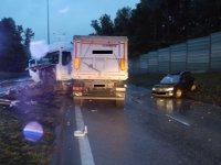�miertelny wypadek na ul. Miast Partnerskich