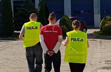 Kradzież rozbójnicza w bełchatowskiej noclegowni