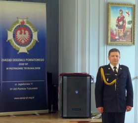 Jakub Rytych nowym szefem piotrkowskich strażaków. Już nie tymczasowym