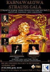 Karnawałowa Strauss Gala zawita do Piotrkowa