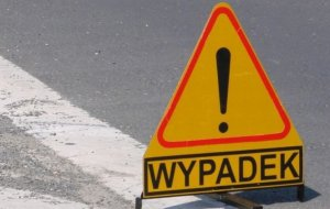 """Wypadek w Przyg³owie. """"Dwunastka"""" zablokowana"""