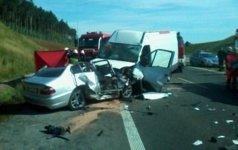 Piotrkowianin zgin�� w wypadku drogowym na A1